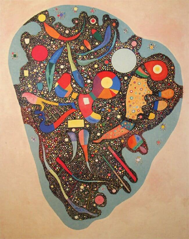 Colourful Ensemble, 1938 by Wassily Kandinsky