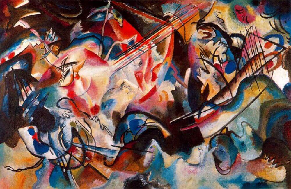 Composition VI, 1913 by Wassily Kandinsky