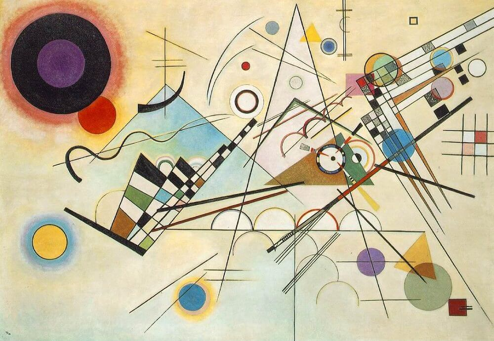 Wassily Kandinsky-paintings,biography,quotes of Wassily Kandinsky.