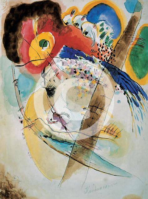 Exotic Birds, 1915  by Wassily Kandinsky