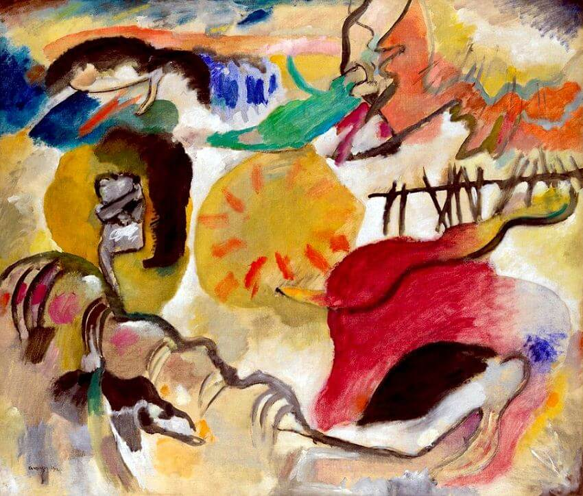 Improvisation, 27 by Wassily Kandinsky