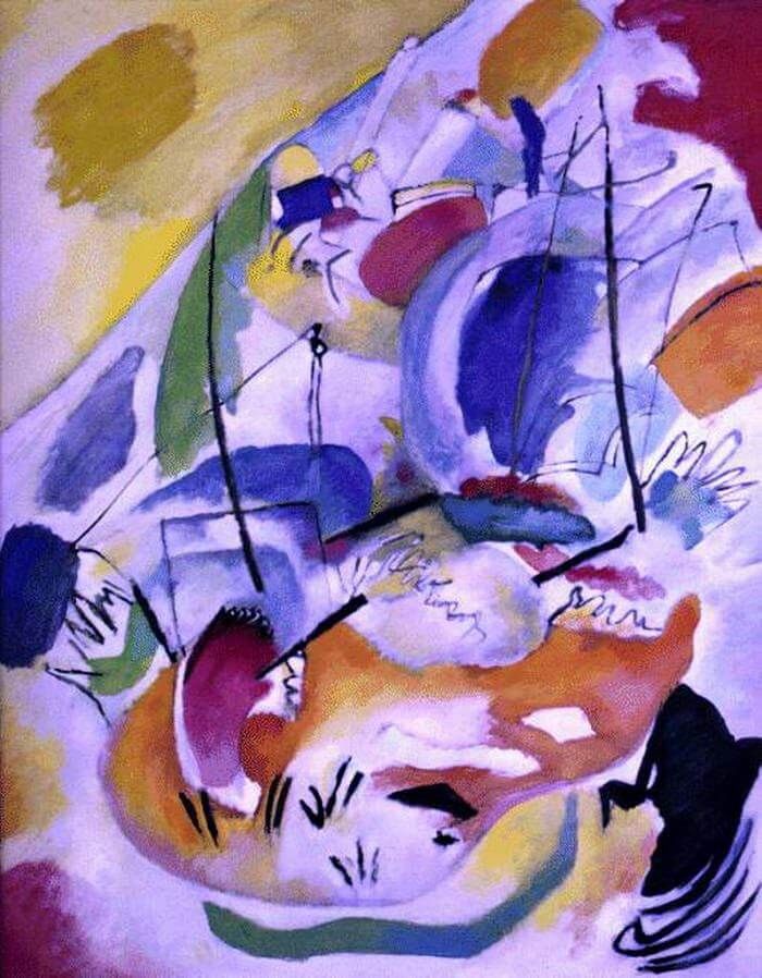 Improvisation, 31 (Sea Battle) by Wassily Kandinsky