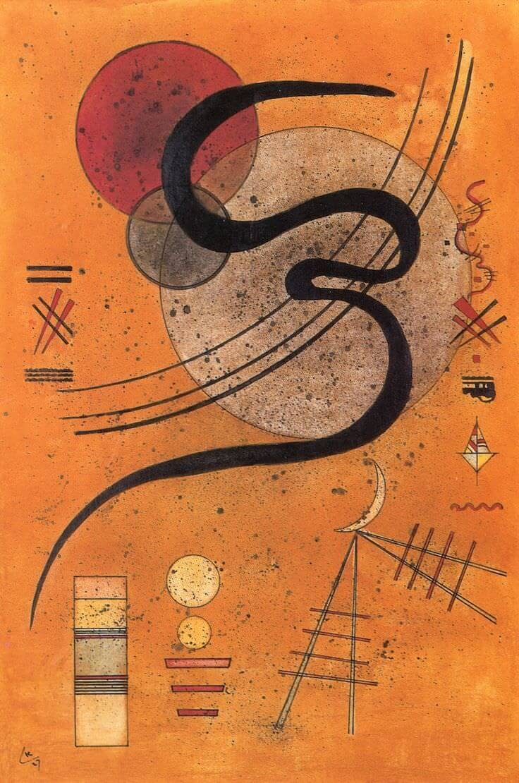 Mood Lines, 1927 by Wassily Kandinsky