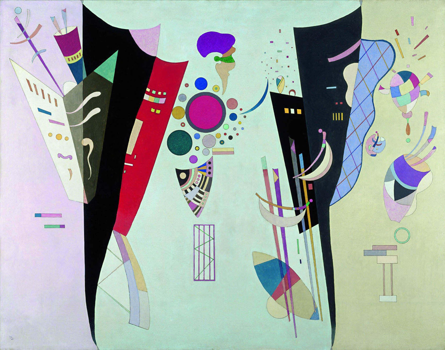 Reciprocal Accords, 1942 by Wassily Kandinsky