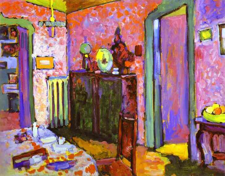 Famous Interior Paintings: Wassily Kandinsky Paintings