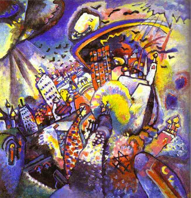 Wassily Kandinsky Pain...