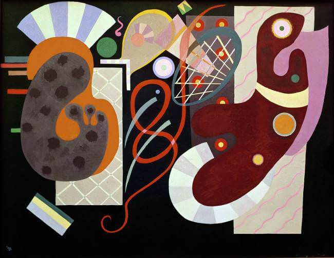 Red Knot, 1936 by Wassily Kandinsky