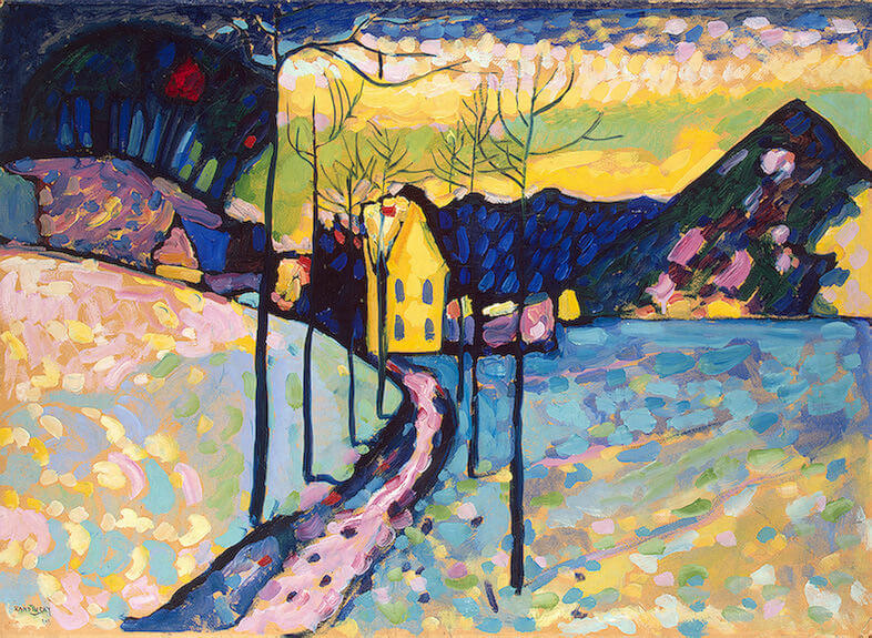 Winter Landscape, 1909 by Wassily Kandinsky